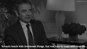 Mr. Bean, He Knows How to Cope With Life