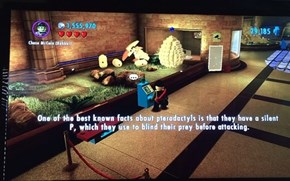 Little Known Fact via Lego City Undercover