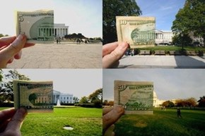 US Bills and Their Buildings