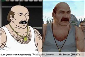 Carl Totally Looks Like Mr. Burton