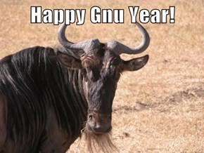 Happy Gnu Year!