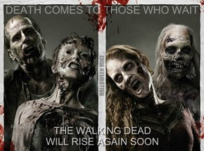 The Walking Dead will rise again