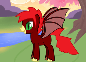 Pterry (silent p) the pterodactylus (silent p) pony
