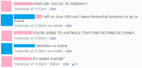 """It's Spelled Australia"""