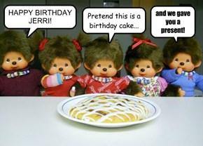 HAPPY BIRTHDAY JERRI!