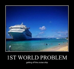1ST WORLD PROBLEM