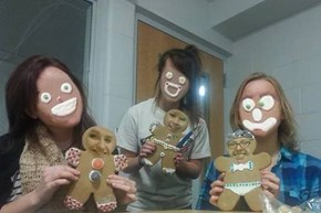 Protip: Never Faceswap Gingerbread Men Unless You Don't Want to Sleep That Night