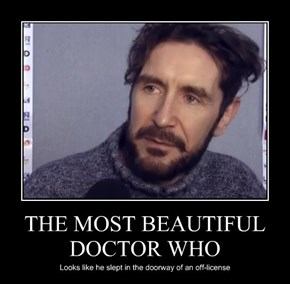 THE MOST BEAUTIFUL DOCTOR WHO