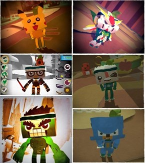 Customized Tearaway Characters Looks Amazing