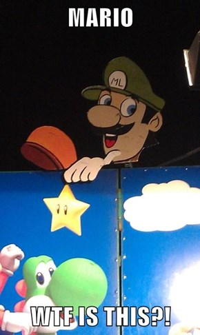 MARIO  WTF IS THIS?!