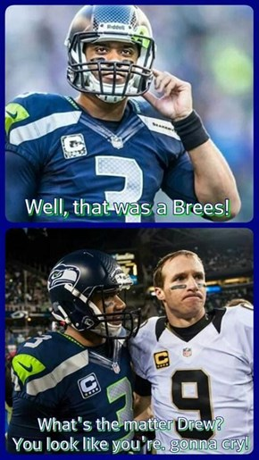 way to go Seahawks!