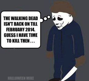 The Walking Dead not back till Feb 2014