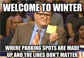 Winter is the Worst for Driving and Parking