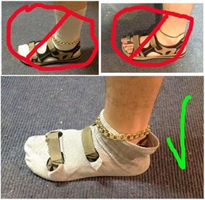 The Only Way to Wear Sandals