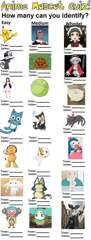 How Well Do You Know Your Cute Sidekicks?