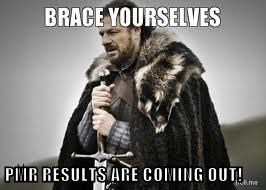 PMR RESULTS ARE COMING OUT!