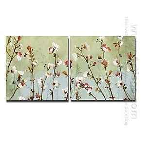 decorative botanical canvas art