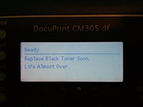 This Printer Has Had Just About Enough of This World
