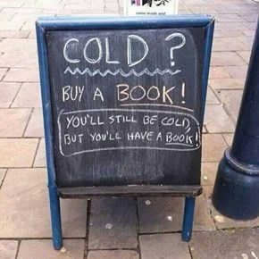 Get Cold With the Power of Reading!