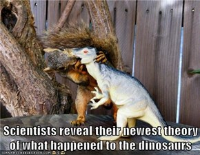 Scientists reveal their newest theory of what happened to the dinosaurs