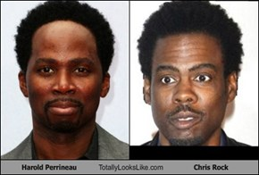 Harold Perrineau Totally Looks Like Chris Rock