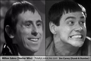 Milton Johns (Doctor Who) Totally Looks Like Jim Carrey (Dumb & Dumber)