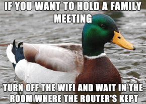 How to Easily Get All Your Family in One Room