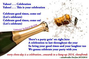 """2014 Cheez-Wishes"" (""Celebration"" by Kool & The Gang)"