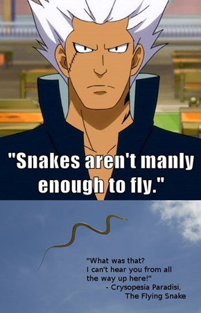 The Manliest of Snakes