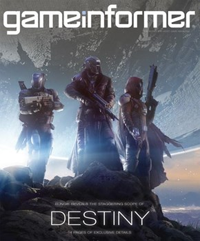 Destiny's on the Cover of Game Informer