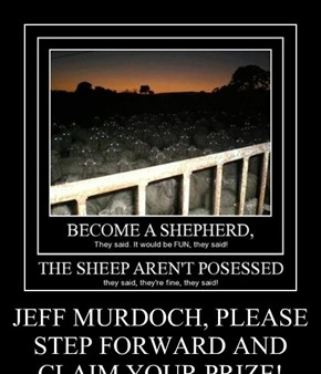 JEFF MURDOCH, PLEASE STEP FORWARD AND CLAIM YOUR PRIZE!