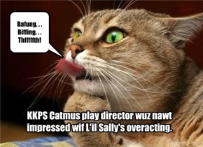 KKPS Catmus play rehearsals.