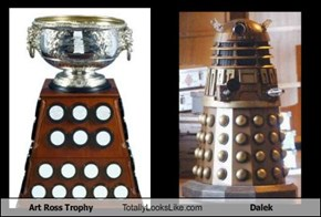 Art Ross Trophy Totally Looks Like Dalek