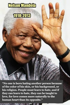 A Great Man Passes From This Life