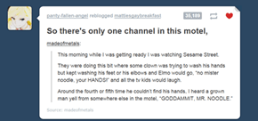 We Believe in You, Mr. Noodle!