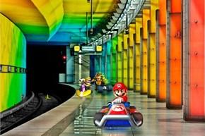 A Realistic Rainbow Road