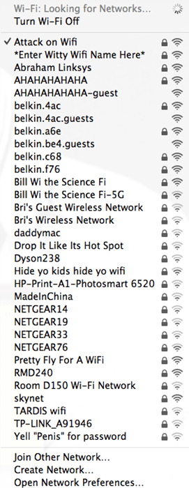 These College Kids Have Way too Much Fun With Wi-Fi Names