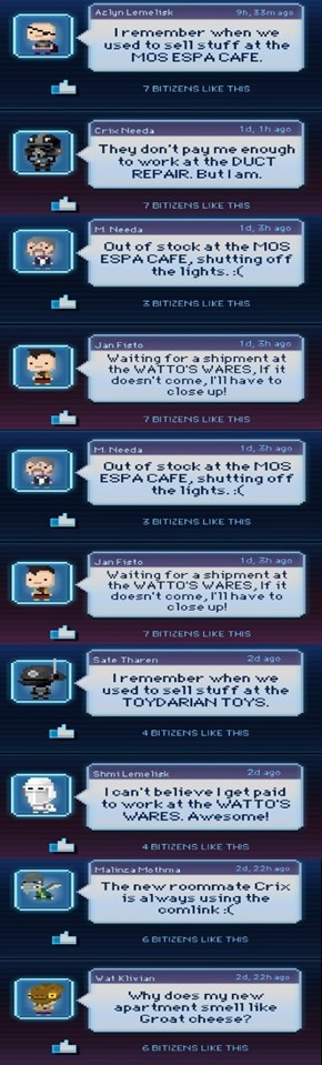 feedback from your bitizens