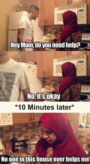 Moms Always Pull This Crap