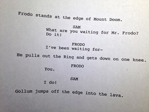 The First 'Lord of The Rings' Draft Was Ahead Of Its Time