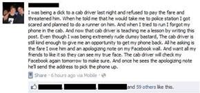 The Cab Driver's Revenge