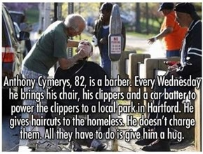 Restoring Faith in Humanity One Haircut at a Time