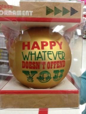 Happy Holidays, I Guess