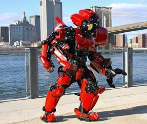 This Home-Made Jaeger is New York's Answer to the Kaiju Apocalypse