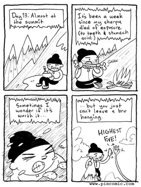 Mountain Journal Entry