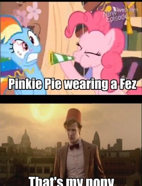 Pinkie Pie is the next Doctor