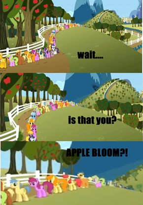 apple bloom grown up! ^^