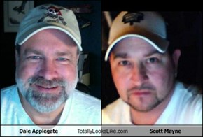 Dale Applegate Totally Looks Like Scott Mayne