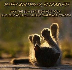 HAPPY BIRTHDAY, ELIZABUFF!