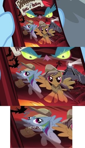 I Guess Daring Do Is Still A Little Mad